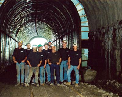 RR Tunnel with Crew