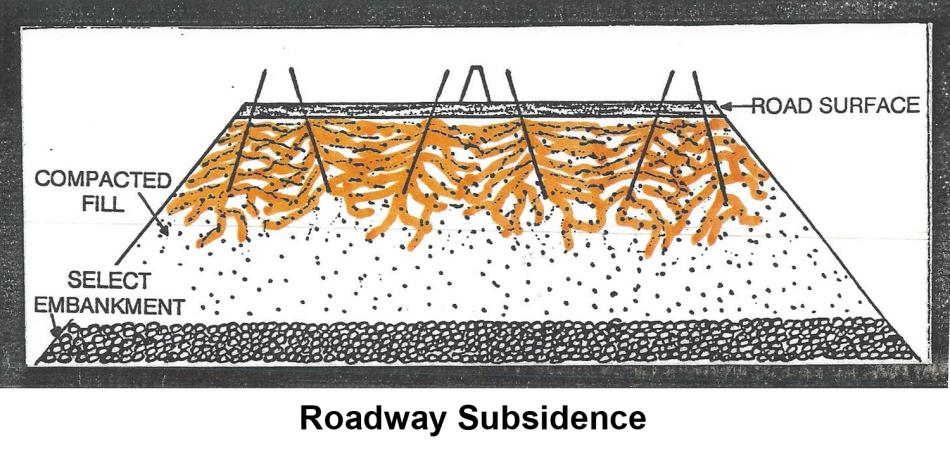 Roadway Subsicence