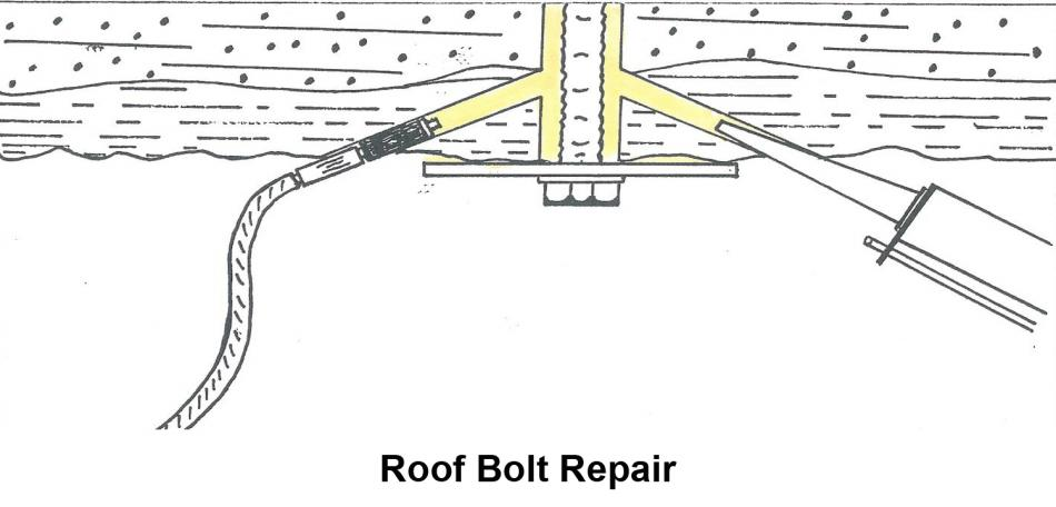 Roof Bolt Repair